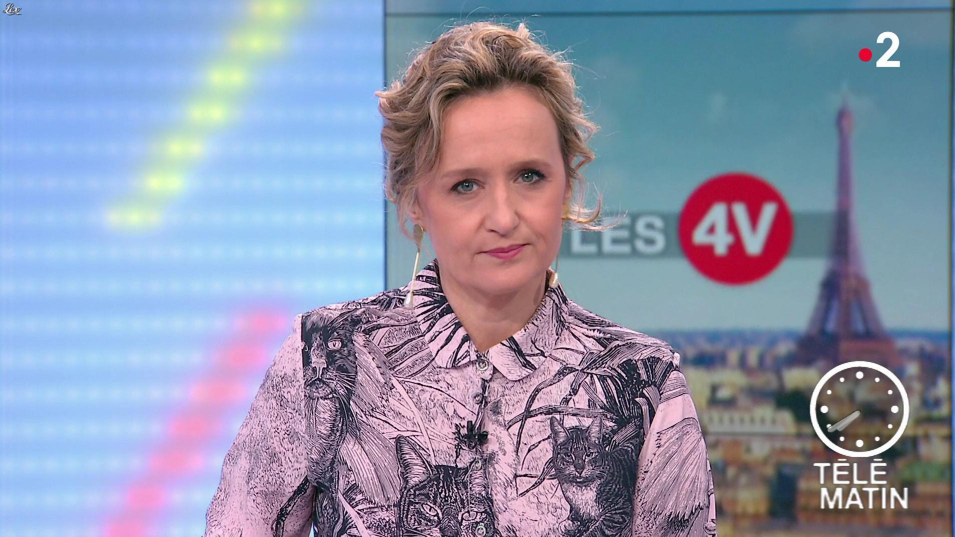 Caroline Roux dans les 4 Vérités. Diffusé à la télévision le 30/01/19.