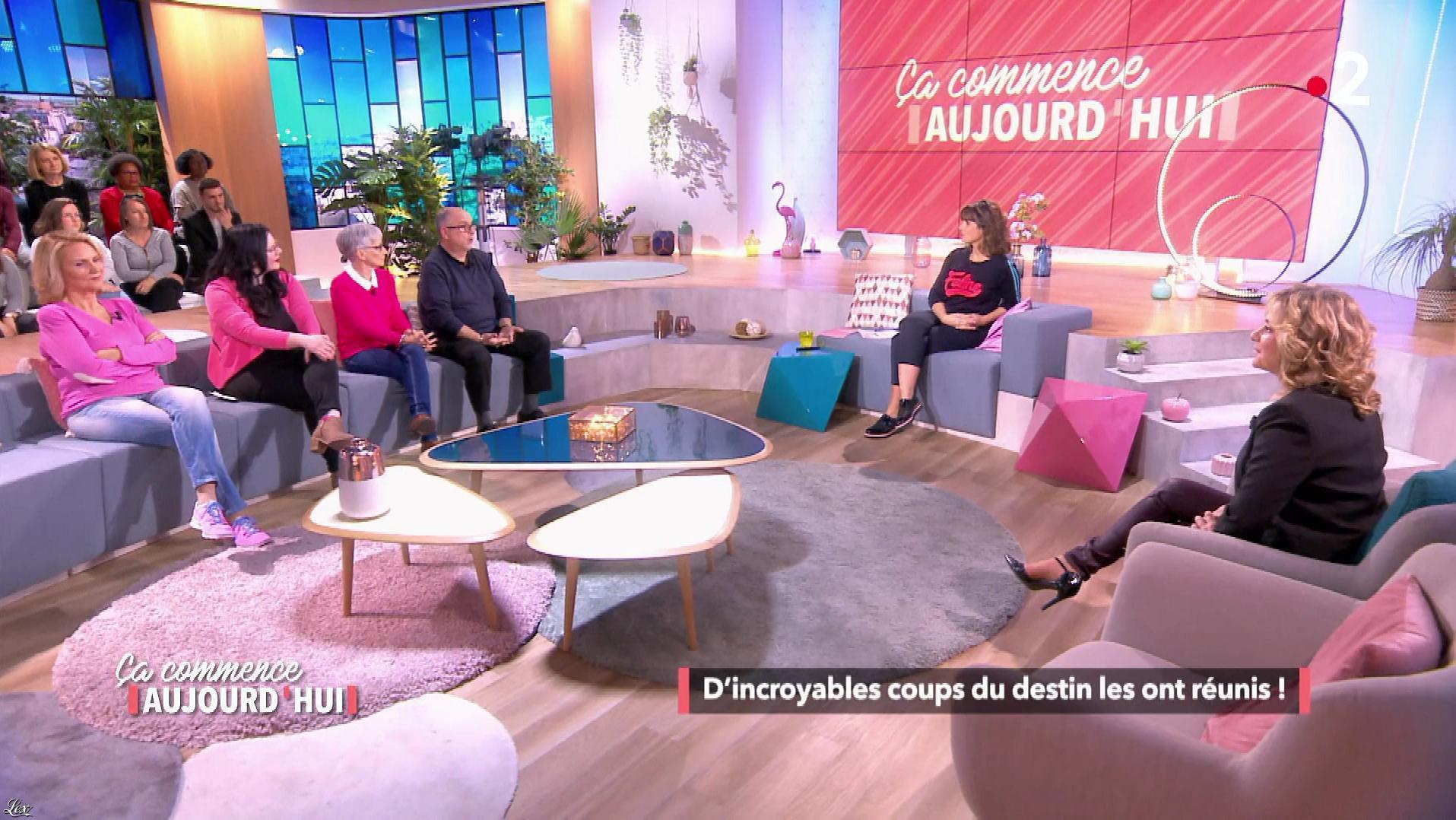 Christèle Albaret dans Ça Commence Aujourd'hui. Diffusé à la télévision le 09/04/19.