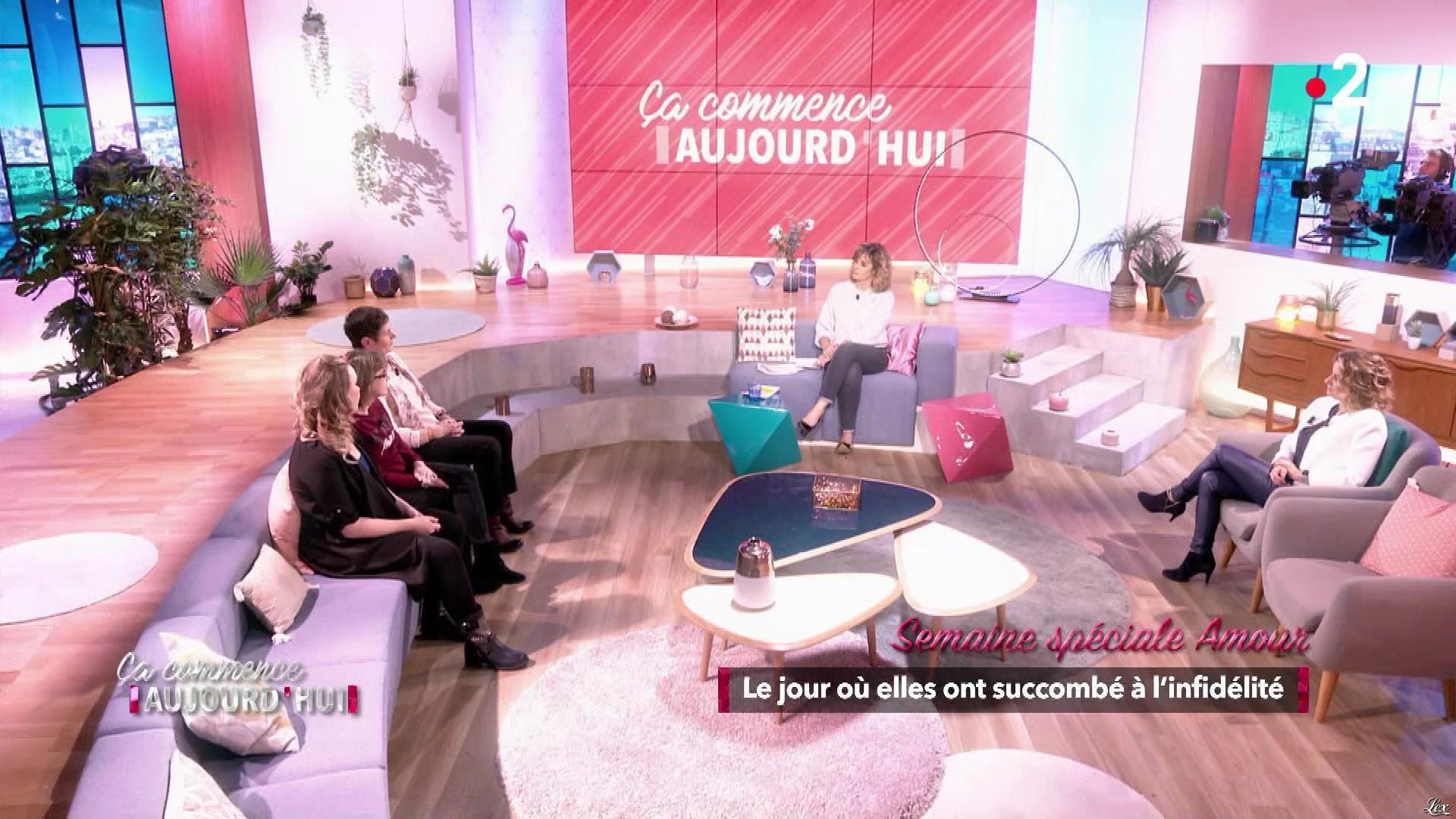 Christèle Albaret dans Ça Commence Aujourd'hui. Diffusé à la télévision le 10/05/19.
