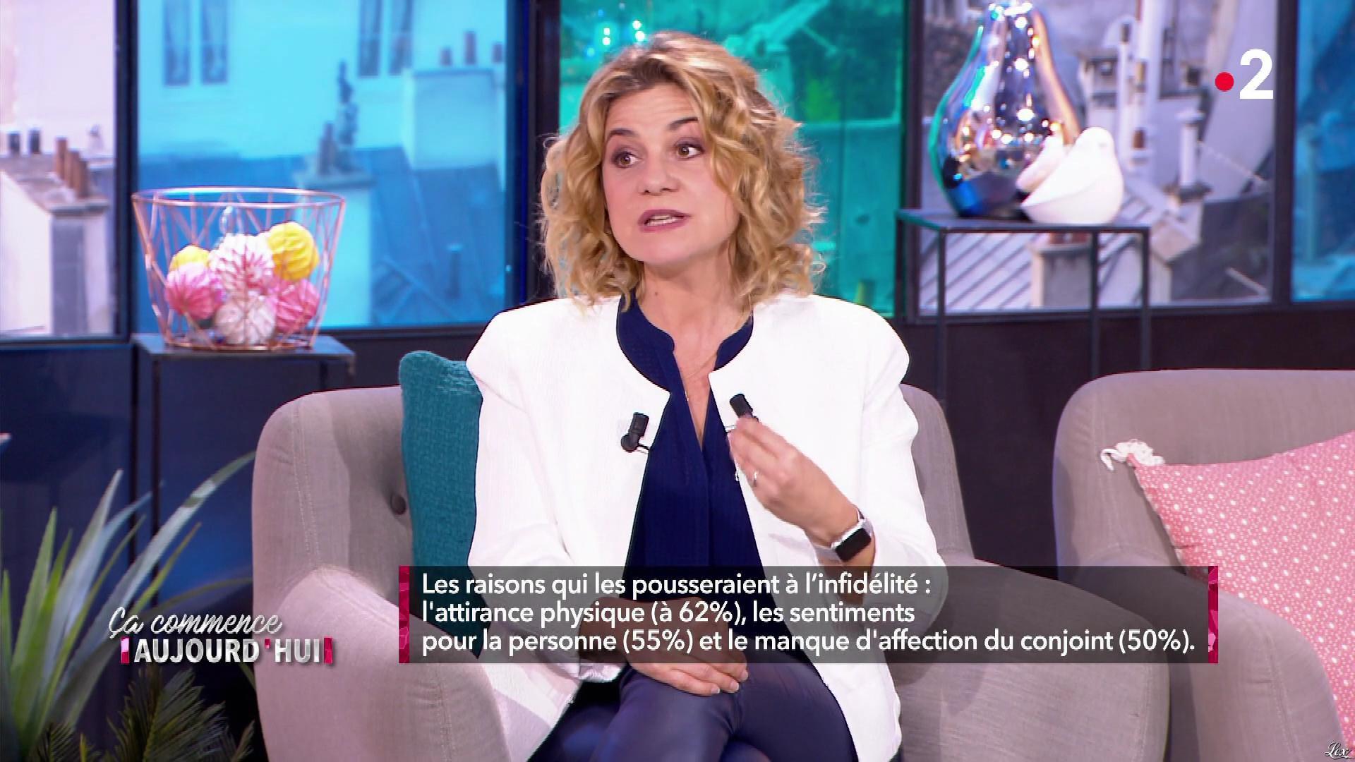 Christele Albaret dans Ça Commence Aujourd'hui. Diffusé à la télévision le 10/05/19.