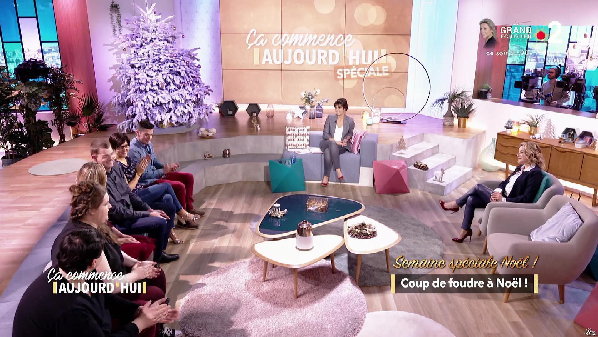 Christele Albaret dans Ça Commence Aujourd'hui. Diffusé à la télévision le 20/12/18.
