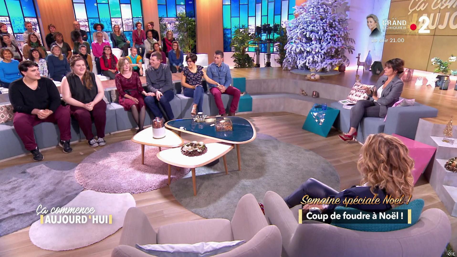 Christèle Albaret dans Ça Commence Aujourd'hui. Diffusé à la télévision le 20/12/18.