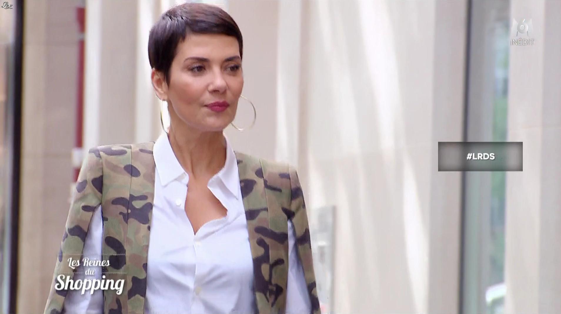 Cristina Cordula dans les Reines du Shopping. Diffusé à la télévision le 09/07/18.