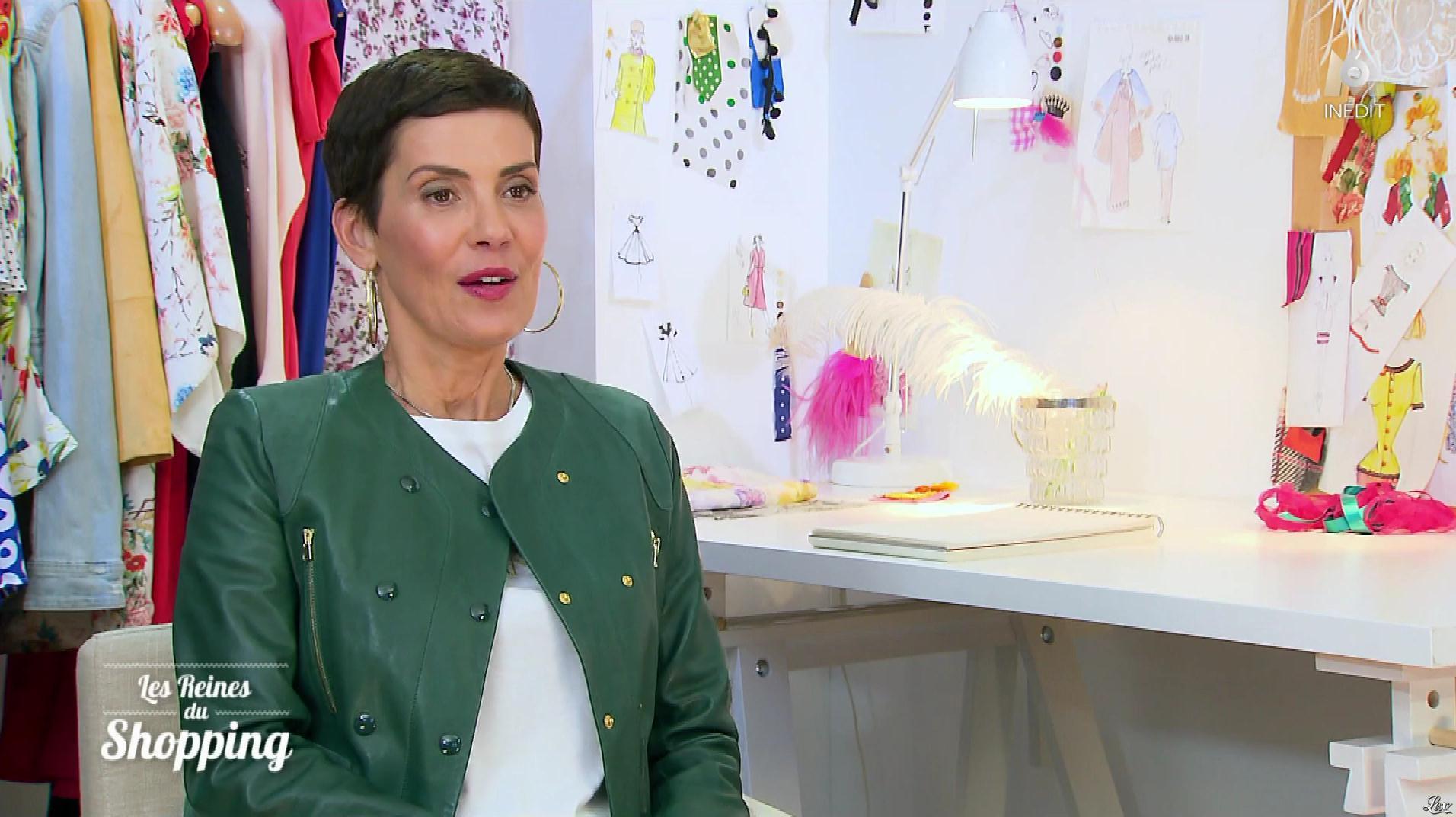 Cristina Cordula dans les Reines du Shopping. Diffusé à la télévision le 14/02/19.