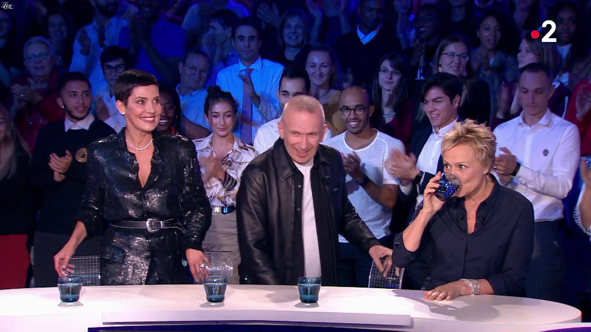 Cristina Cordula dans On n'est pas Couché. Diffusé à la télévision le 20/10/18.