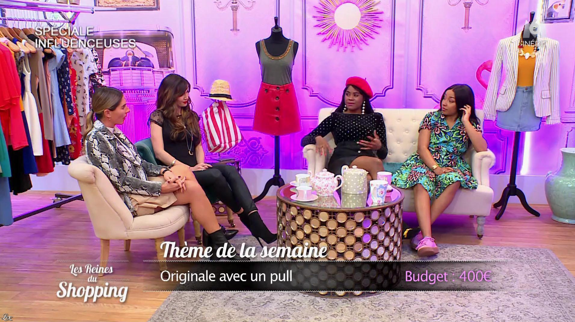 Des Candidates dans les Reines du Shopping. Diffusé à la télévision le 11/10/18.