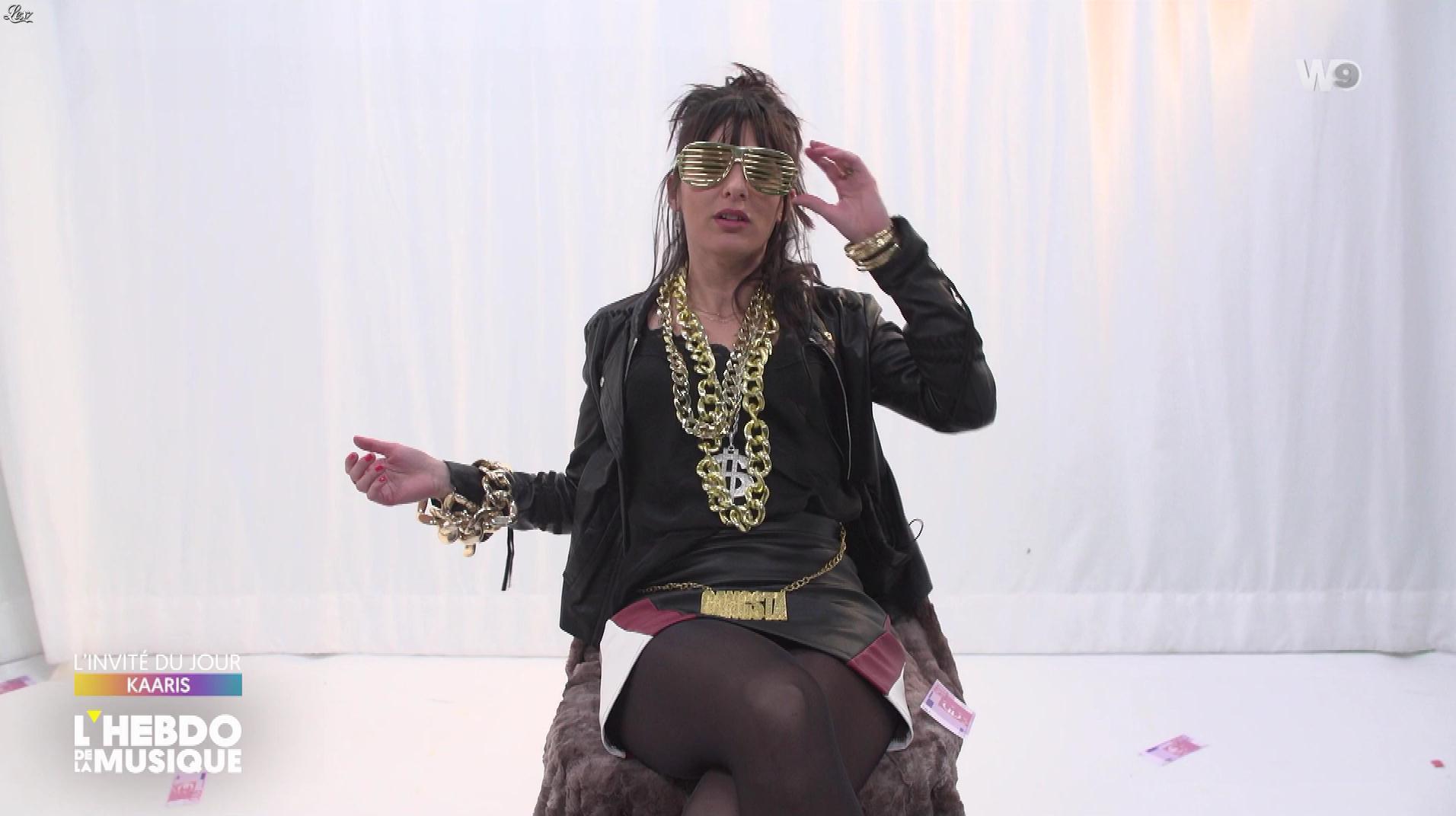 Erika Moulet dans l'Hebdo de la Musique. Diffusé à la télévision le 02/02/19.