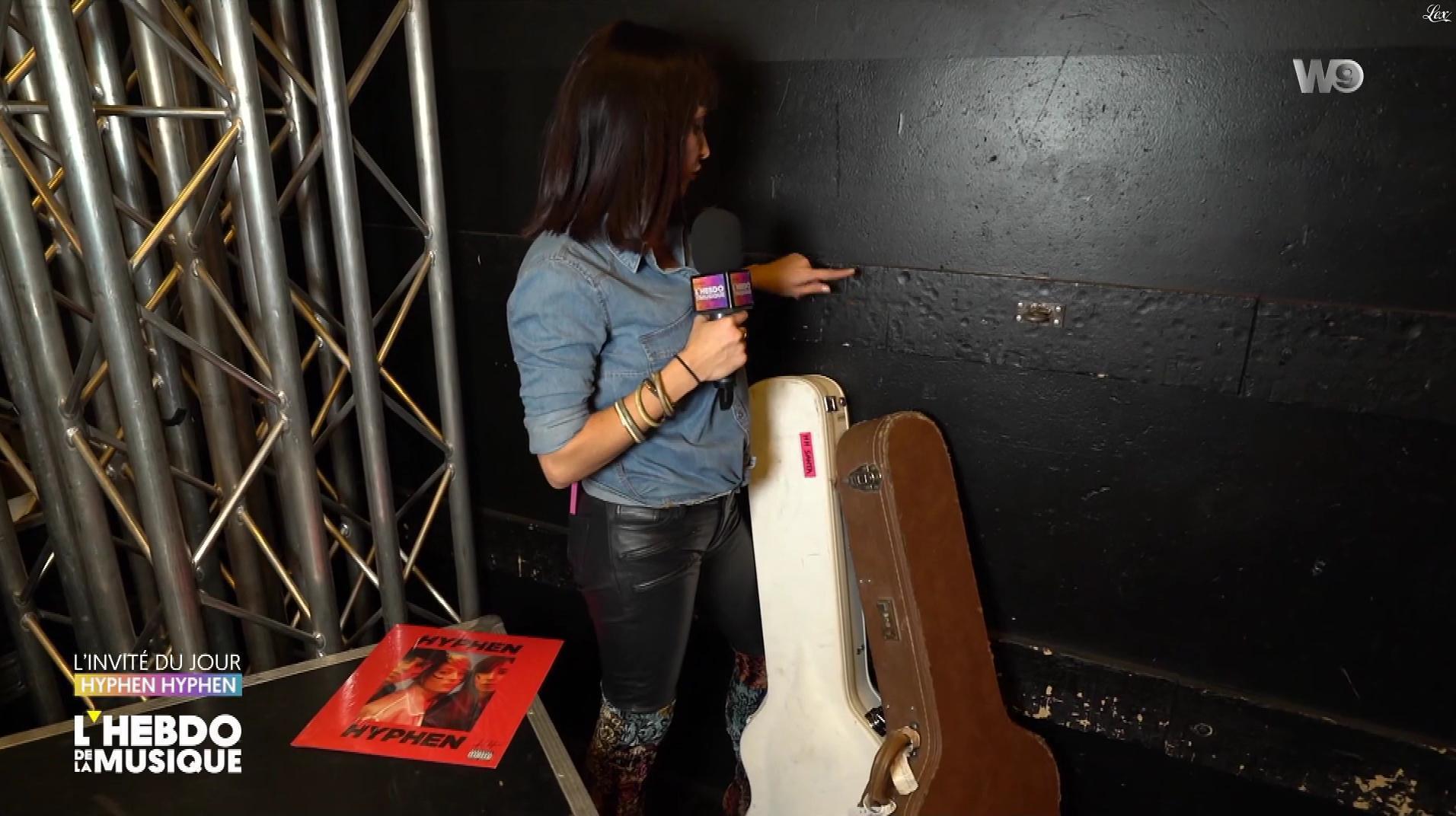 Erika Moulet dans l'Hebdo de la Musique. Diffusé à la télévision le 20/10/18.