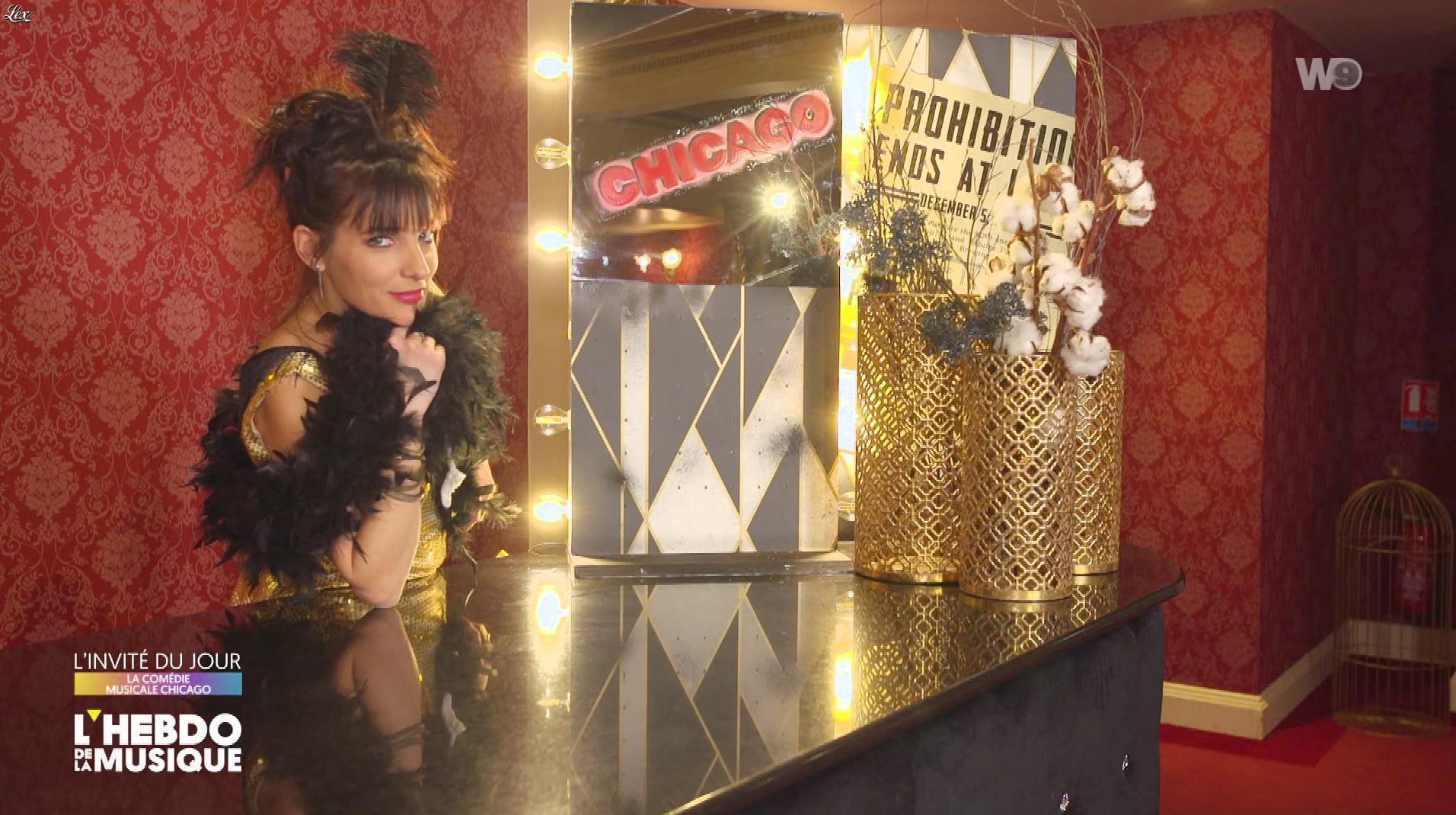 Erika Moulet dans l'hebdo de la Musique. Diffusé à la télévision le 23/02/19.