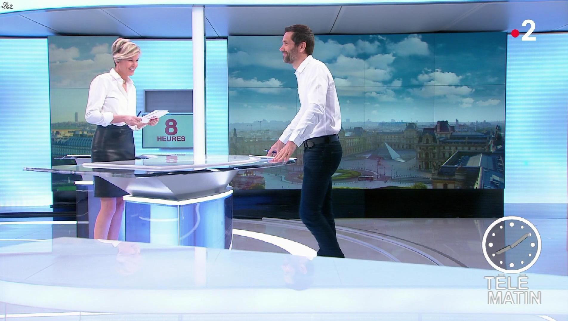 Estelle Colin dans Télématin. Diffusé à la télévision le 08/03/19.