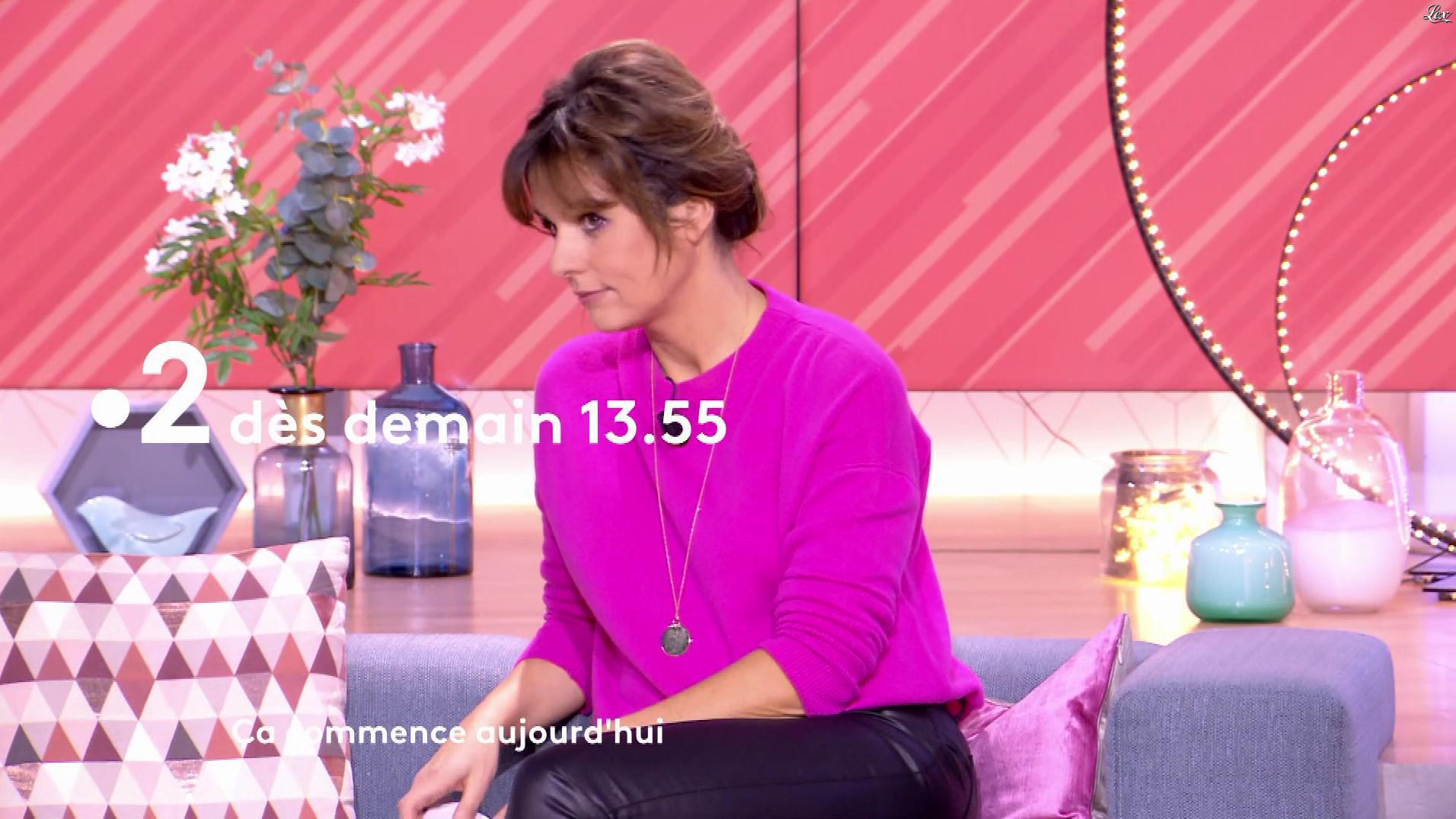 Faustine Bollaert dans une Bande-Annonce de Ça Commence Aujourd'hui. Diffusé à la télévision le 06/01/19.