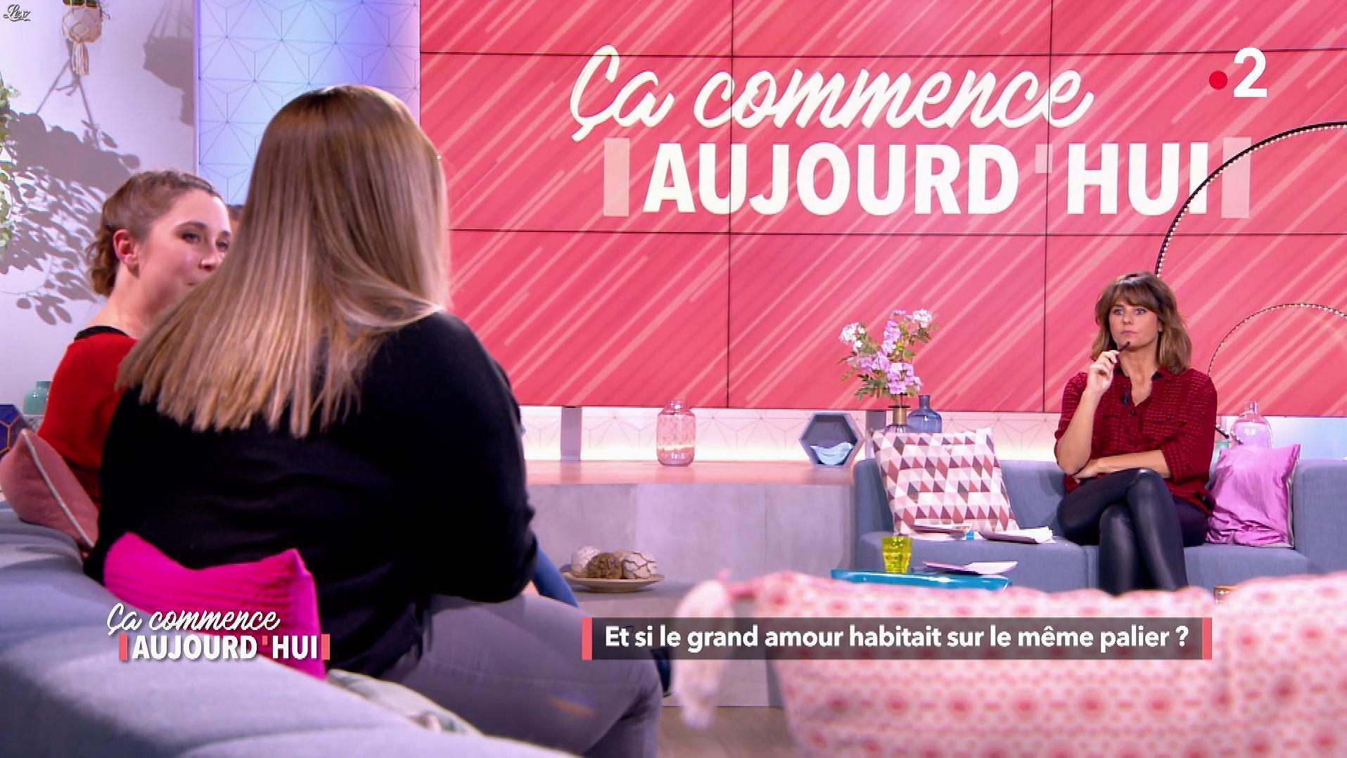 Faustine Bollaert dans Ça Commence Aujourd'hui. Diffusé à la télévision le 05/03/19.