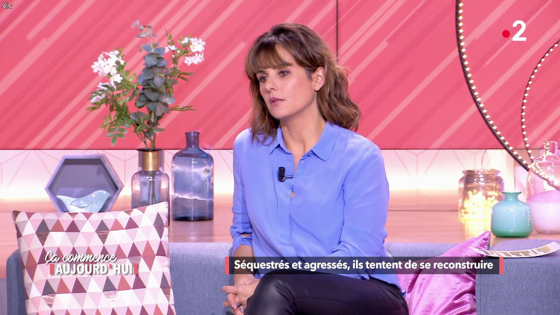 Faustine Bollaert dans Ça Commence Aujourd'hui. Diffusé à la télévision le 09/05/19.