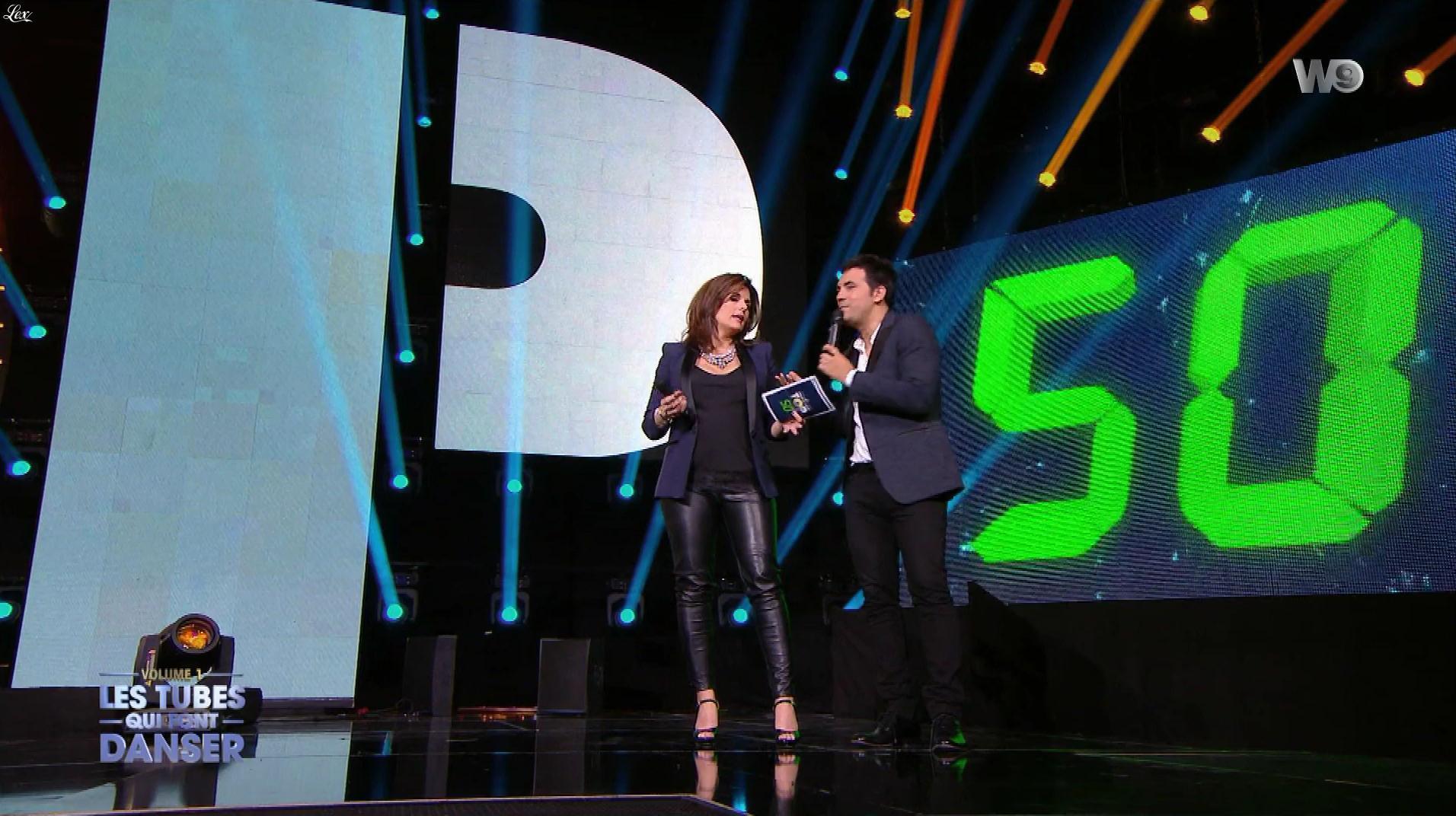 Faustine Bollaert dans les Tubes Qui Font Danser. Diffusé à la télévision le 04/08/18.