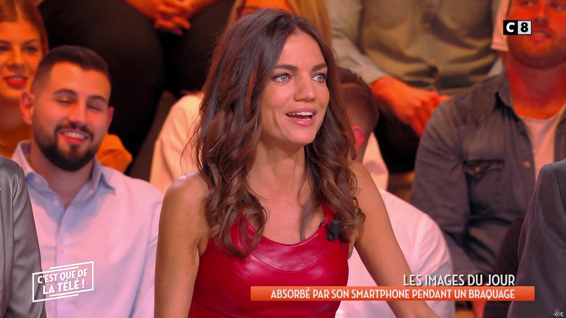 FrancesÇa Antoniotti dans c'est Que de la Télé. Diffusé à la télévision le 06/03/19.