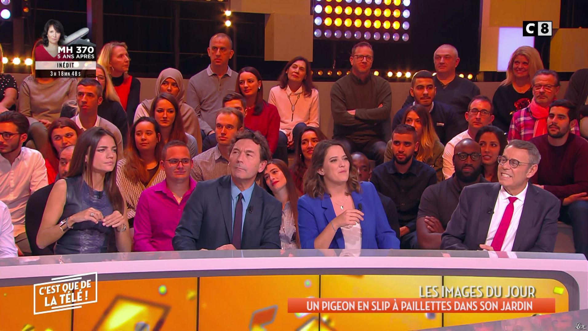FrancesÇa Antoniotti dans c'est Que de la Télé. Diffusé à la télévision le 07/03/19.