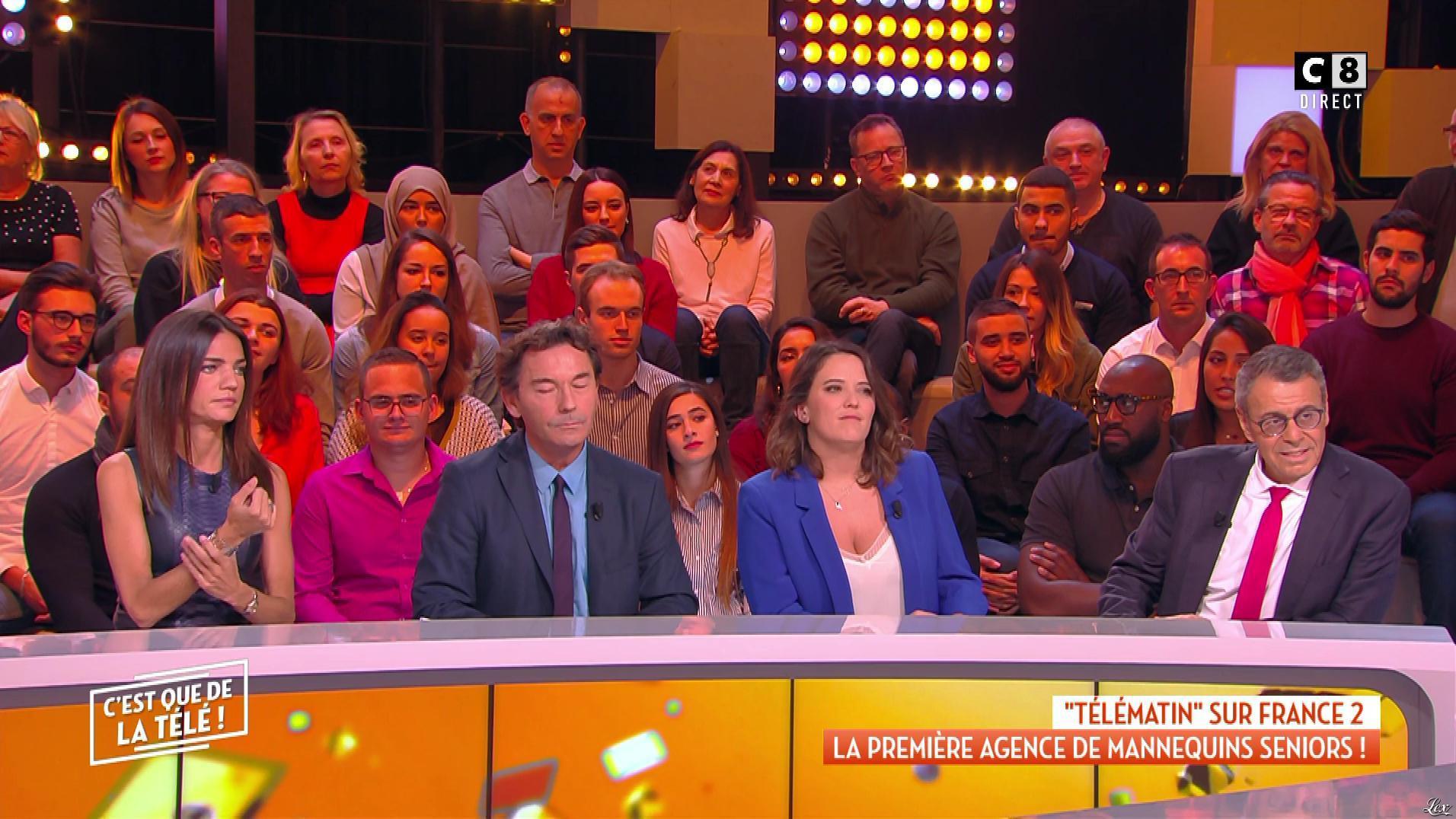 FrancesÇa Antoniotti dans c'est Que de la Télé. Diffusé à la télévision le 22/11/18.