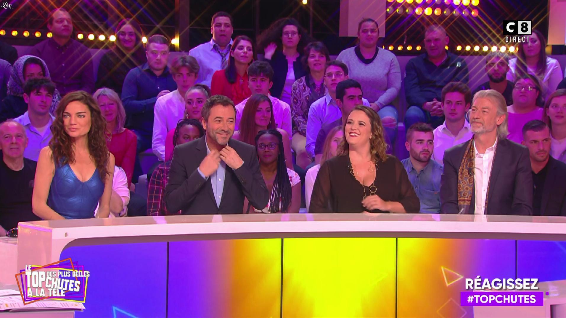 FrancesÇa Antoniotti dans le Top des Chutes. Diffusé à la télévision le 11/04/19.
