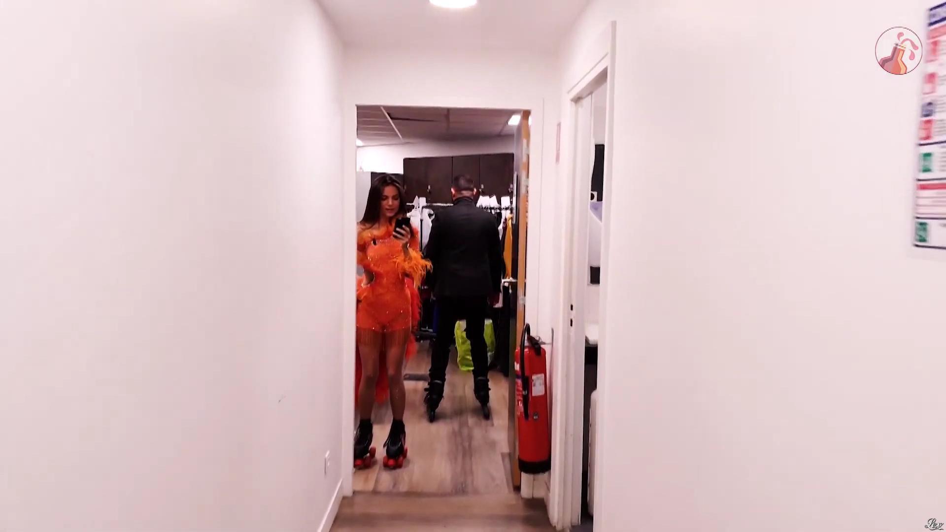 FrancesÇa Antoniotti dans Off de Touche pas à mon Poste. Diffusé à la télévision le 25/01/19.