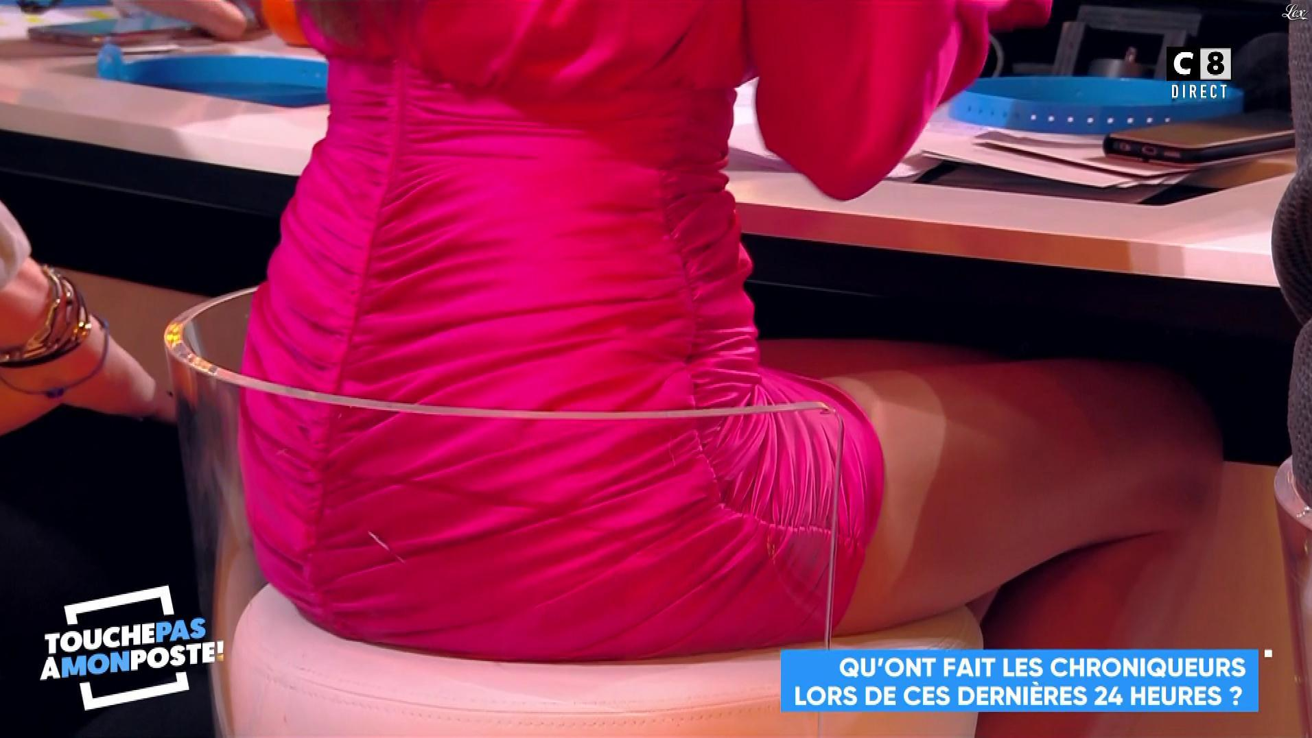 FrancesÇa Antoniotti dans Touche pas à mon Poste. Diffusé à la télévision le 05/02/19.