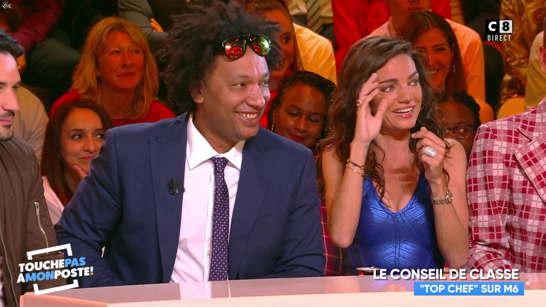 FrancesÇa Antoniotti dans Touche pas à mon Poste. Diffusé à la télévision le 11/04/19.