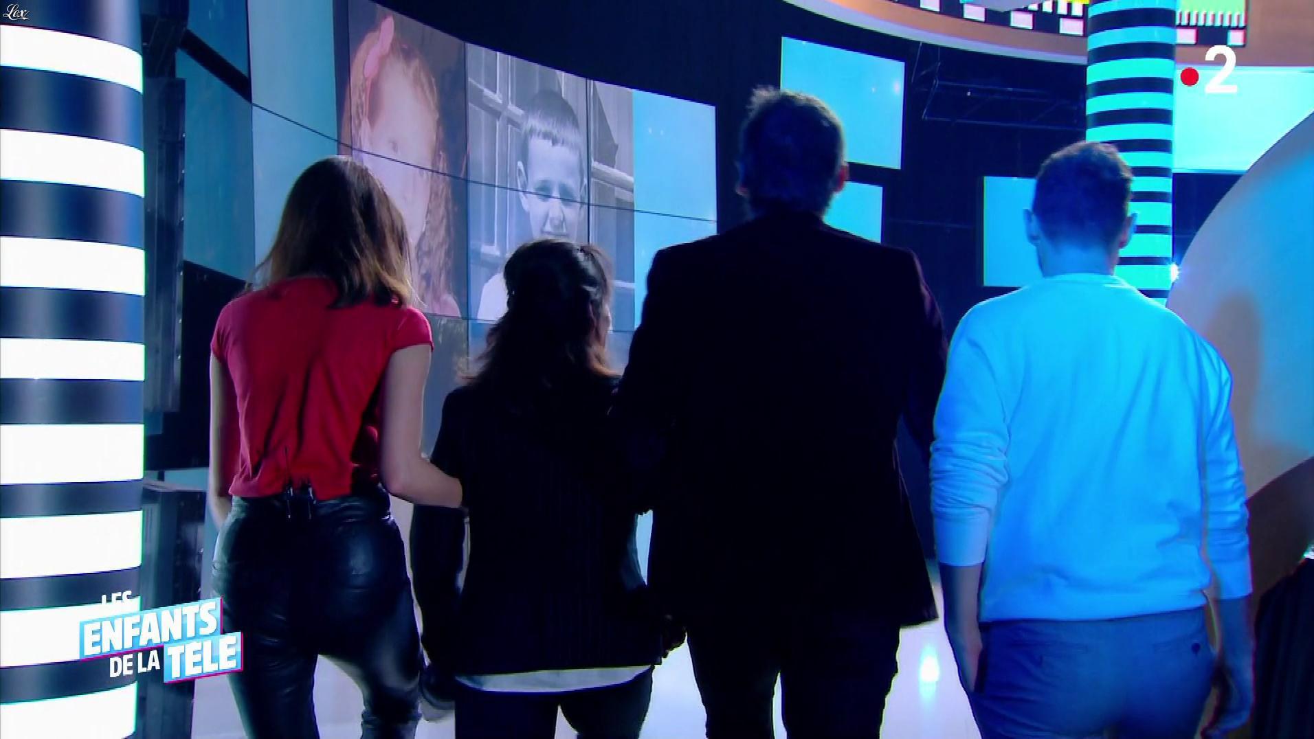 Frédérique Bel dans les Enfants de la Télé. Diffusé à la télévision le 27/01/19.