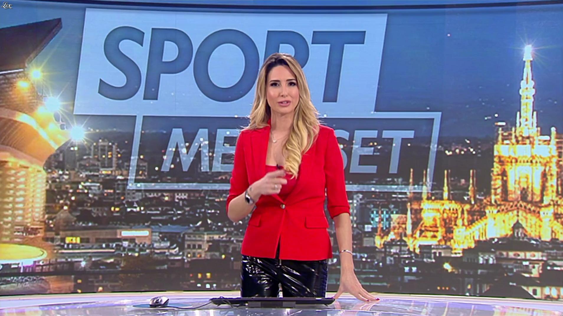 Giorgia Rossi dans Mediaset Sport. Diffusé à la télévision le 31/12/18.