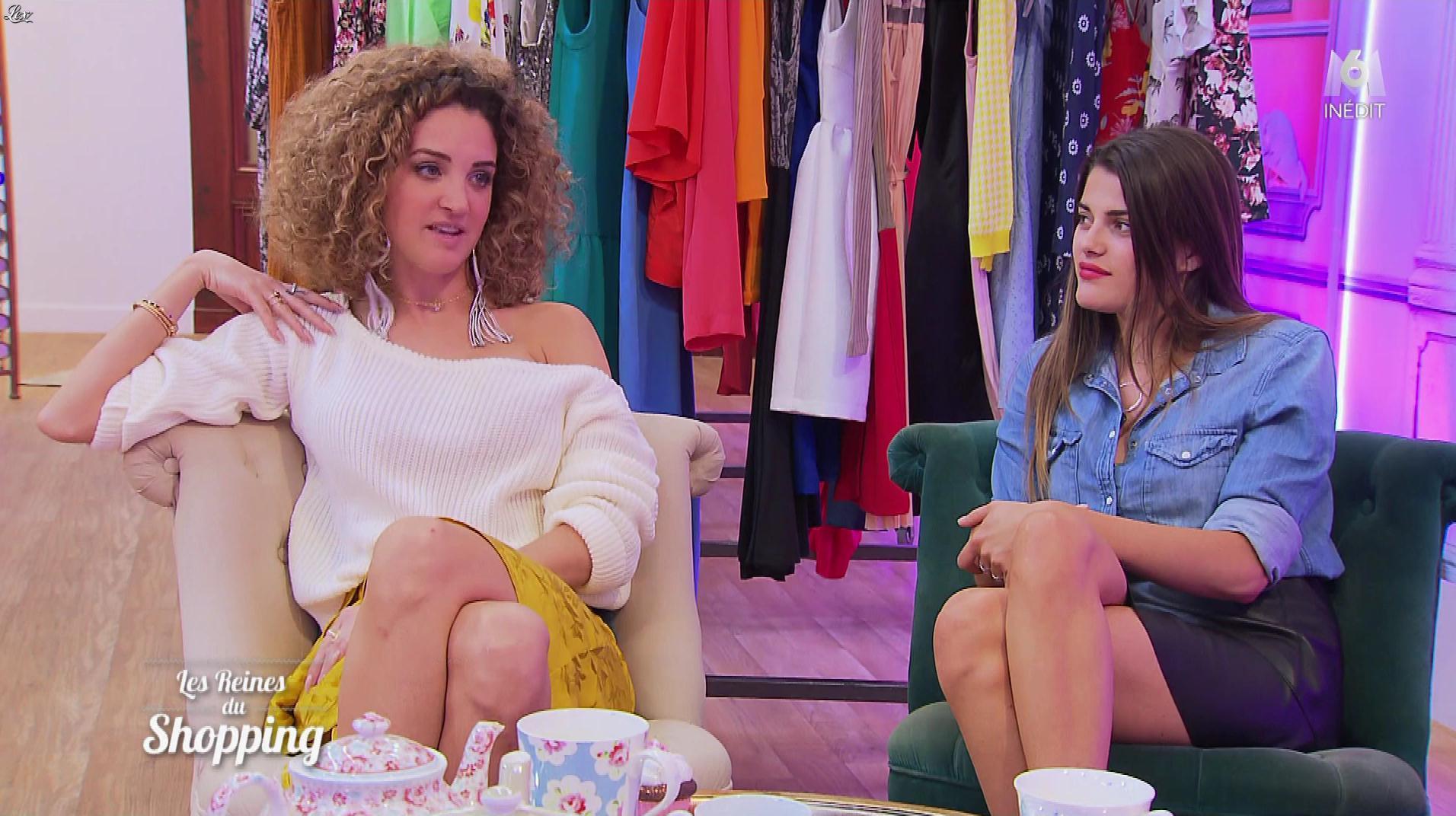 Inconnue dans les Reines du Shopping. Diffusé à la télévision le 01/11/18.