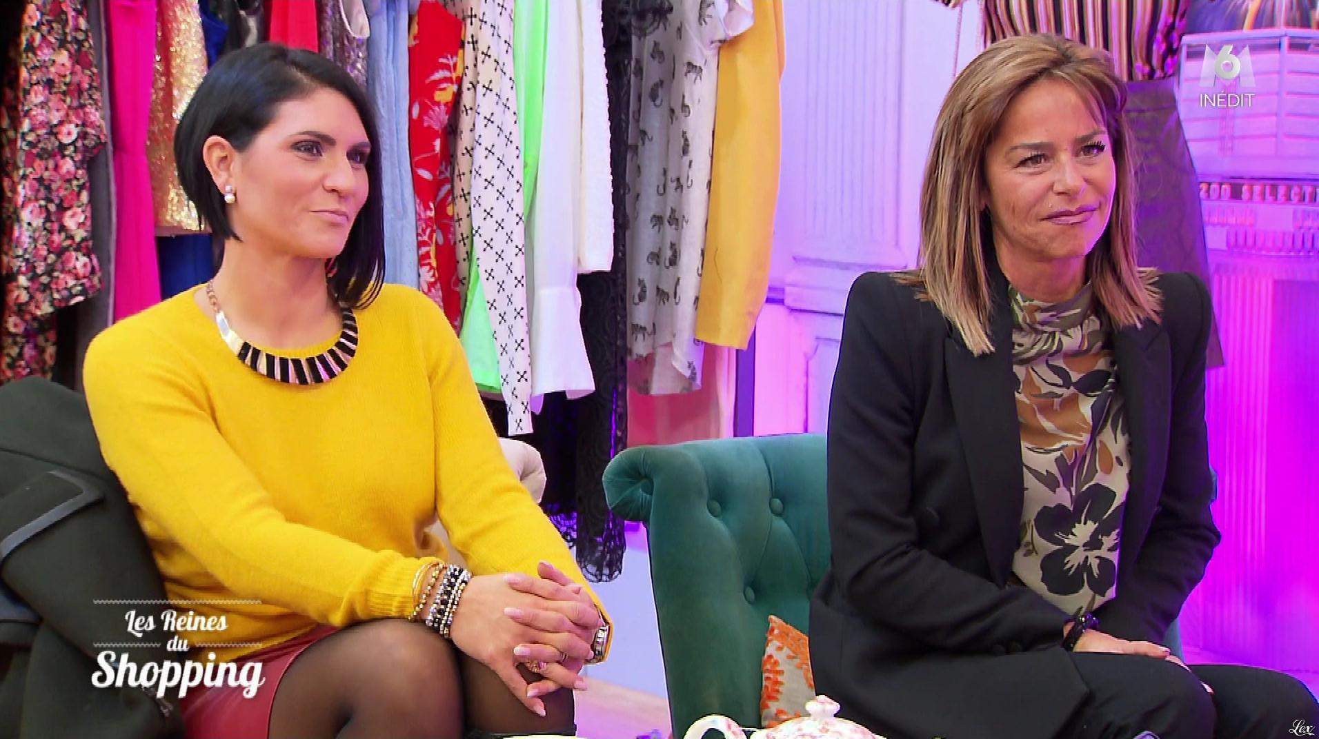 Inconnue dans les Reines du Shopping. Diffusé à la télévision le 11/03/19.