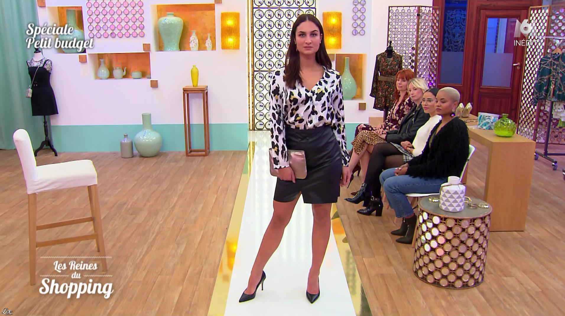 Inconnue dans les Reines du Shopping. Diffusé à la télévision le 23/04/19.