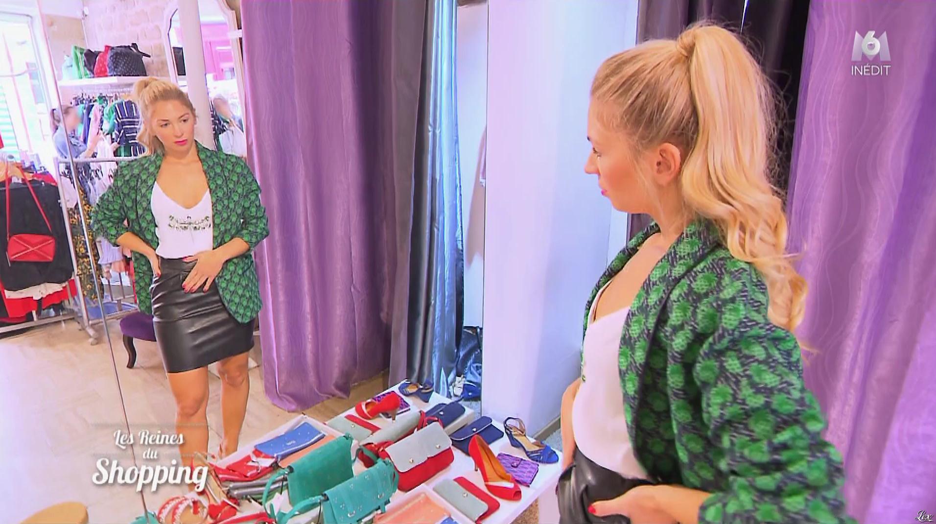 Inconnue dans les Reines du Shopping. Diffusé à la télévision le 31/10/18.
