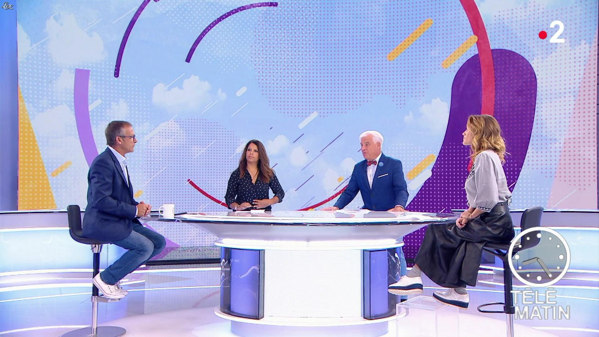 Julia Livage dans Télématin. Diffusé à la télévision le 01/10/18.