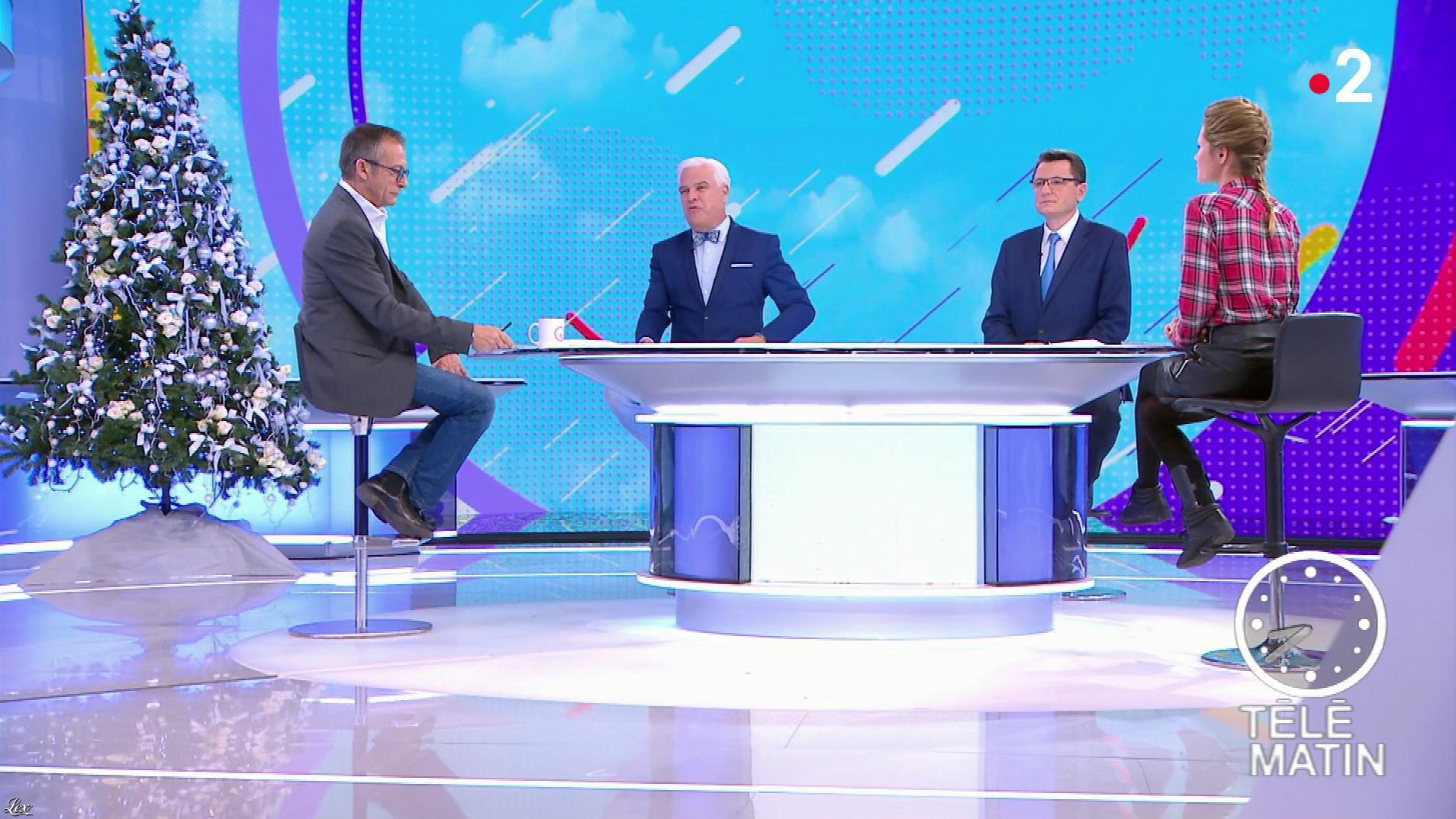 Julia Livage dans Télématin. Diffusé à la télévision le 03/12/18.