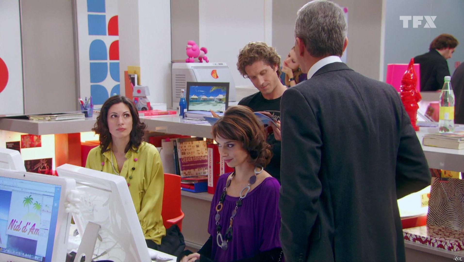 Julia Vignali dans Seconde Chance. Diffusé à la télévision le 03/08/18.