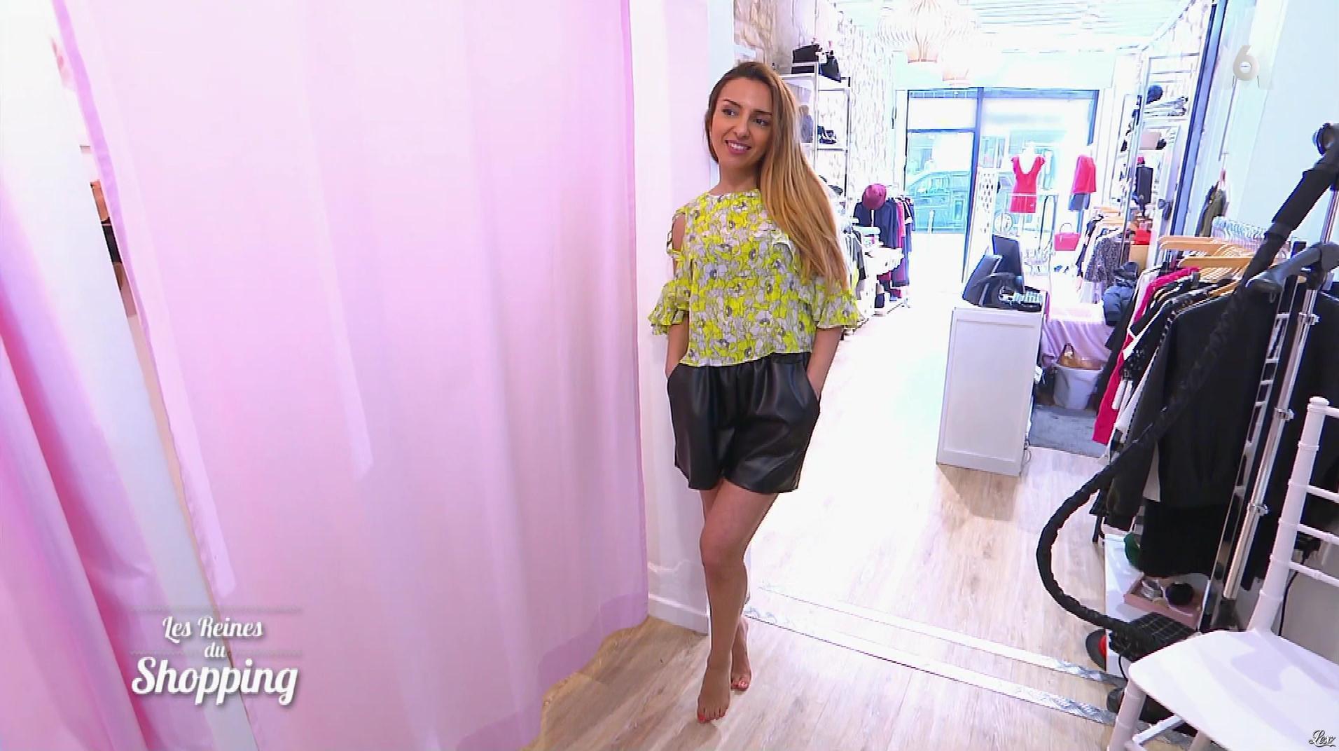 Une Candidate dans les Reines du Shopping. Diffusé à la télévision le 02/08/18.