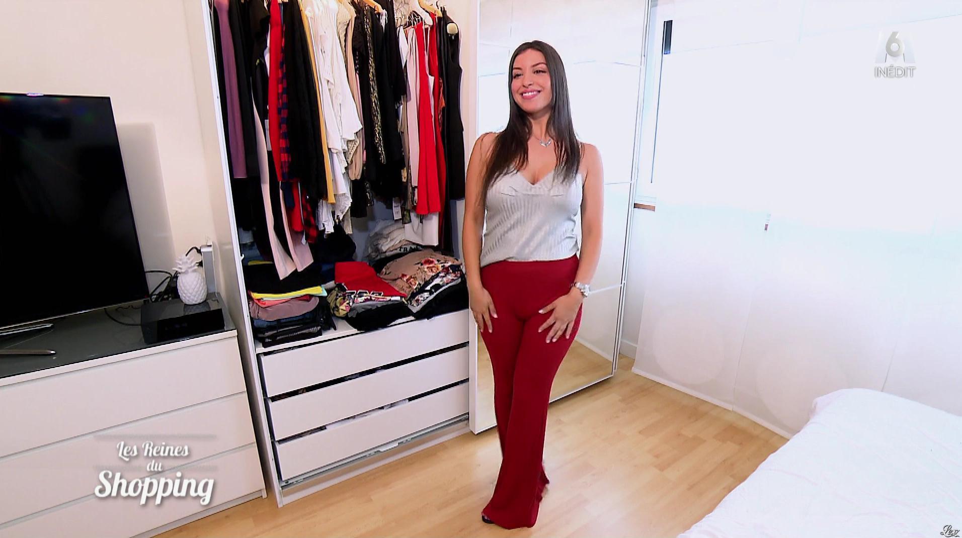 Une Candidate dans les Reines du Shopping. Diffusé à la télévision le 04/10/18.