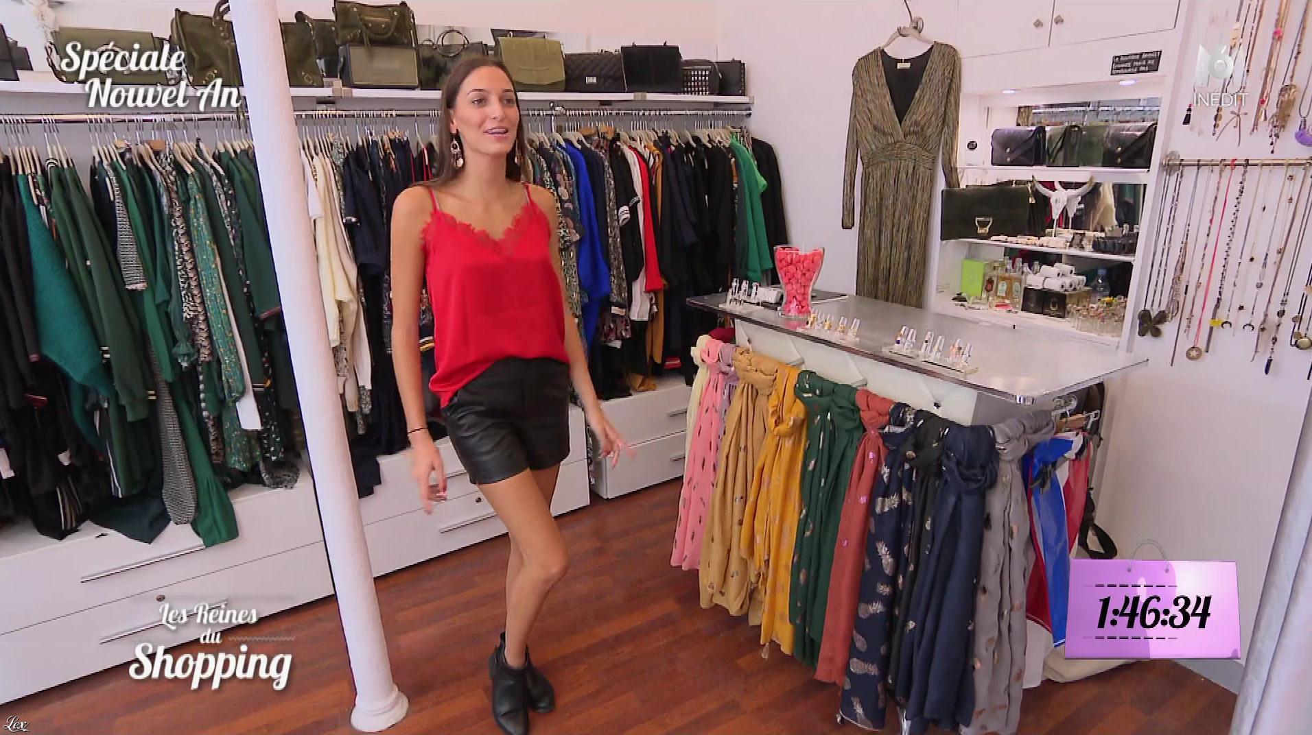 Une Candidate dans les Reines du Shopping. Diffusé à la télévision le 07/12/18.