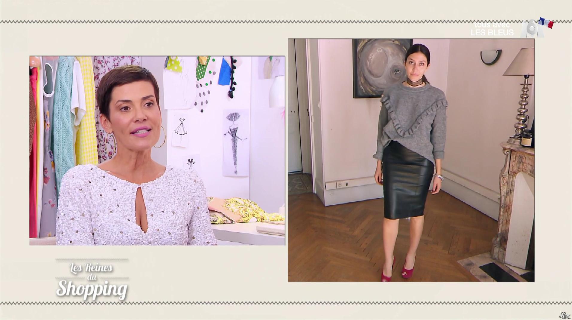 Une Candidate dans les Reines du Shopping. Diffusé à la télévision le 13/07/18.