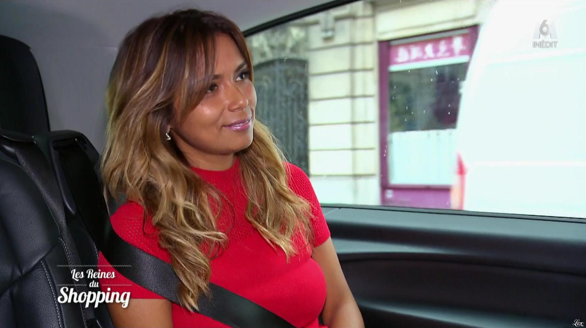 Une Candidate dans les Reines du Shopping. Diffusé à la télévision le 17/09/18.