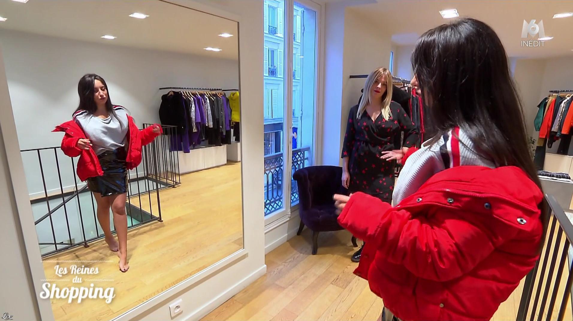 Une Candidate dans les Reines du Shopping. Diffusé à la télévision le 19/02/19.