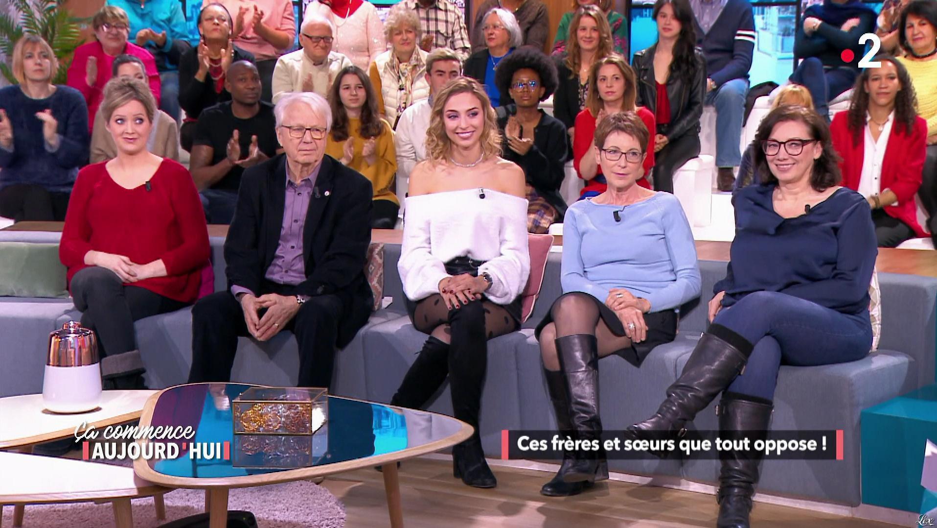 Wynona Gueraini dans Ça Commence Aujourd'hui. Diffusé à la télévision le 27/02/19.