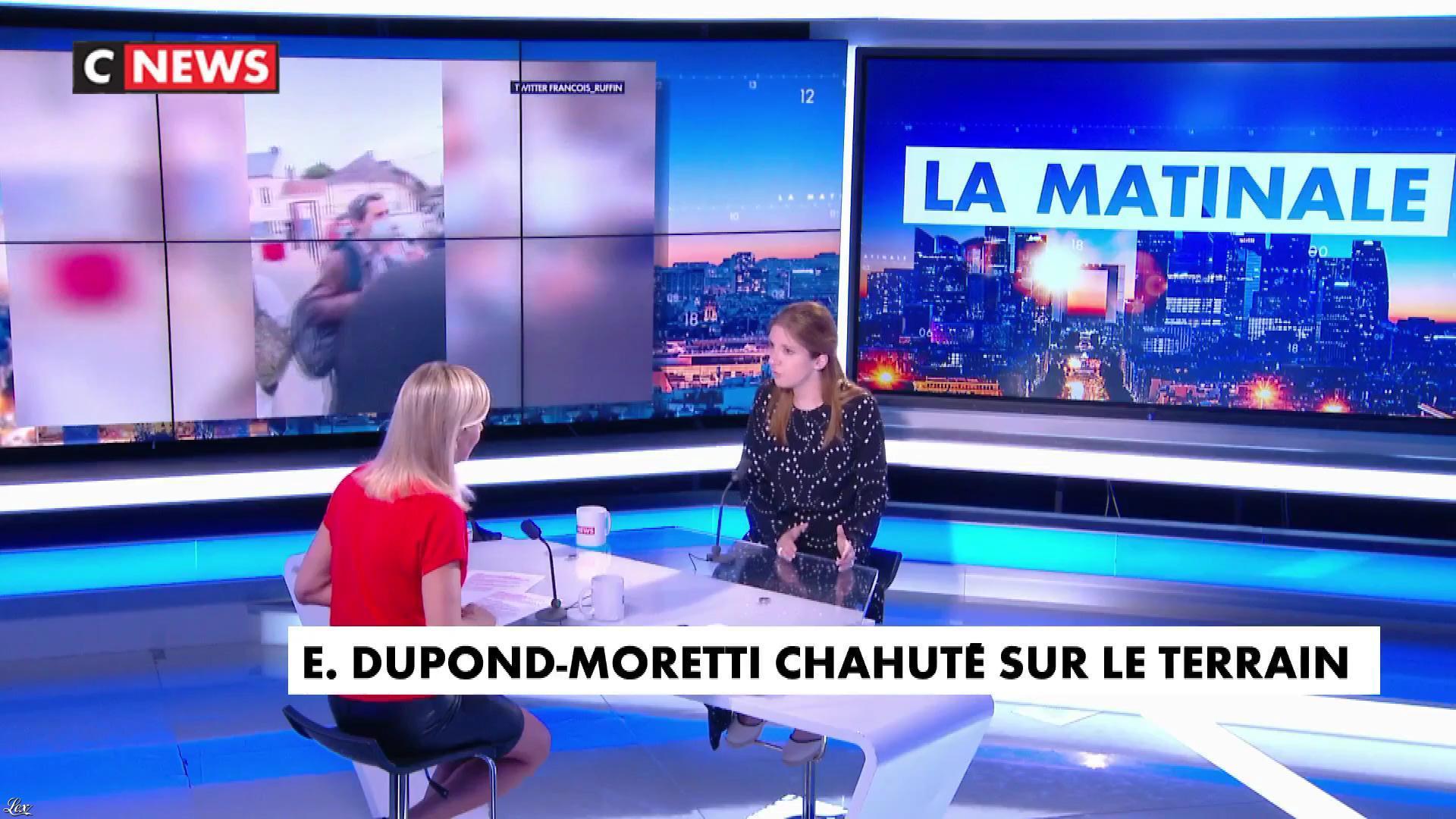 Laurence Ferrari dans l'Interview de Laurence Ferrari. Diffusé à la télévision le 14/06/21.