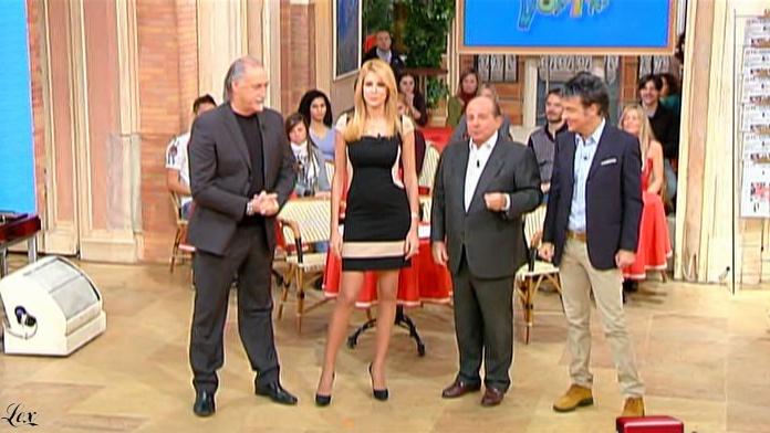 Adriana Volpe dans I Fatti Vostri. Diffusé à la télévision le 13/01/11.