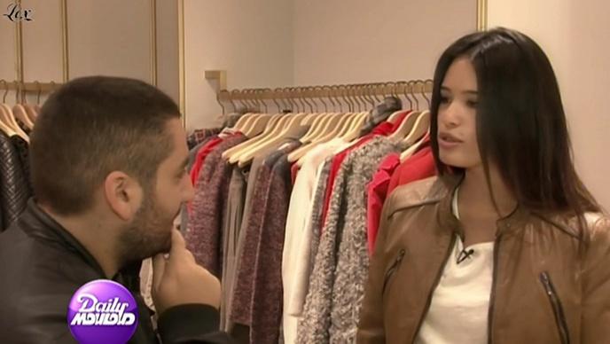 Anne-Solenne Hatte dans le Grand Journal De Canal Plus. Diffusé à la télévision le 13/01/11.