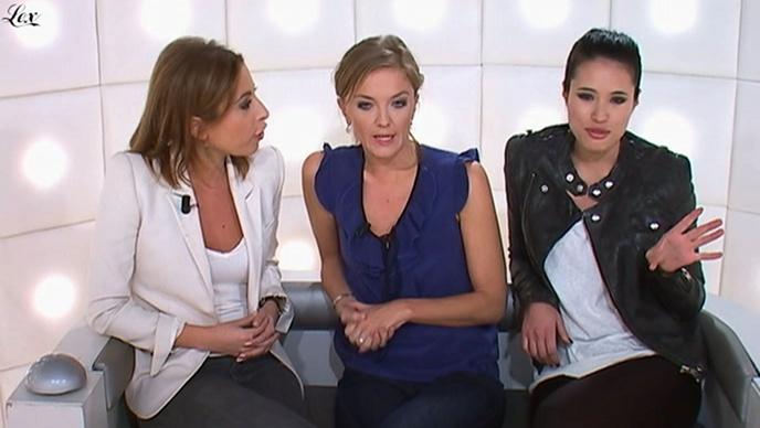 Anne-Solenne Hatte dans le Grand Journal De Canal Plus. Diffusé à la télévision le 24/03/11.