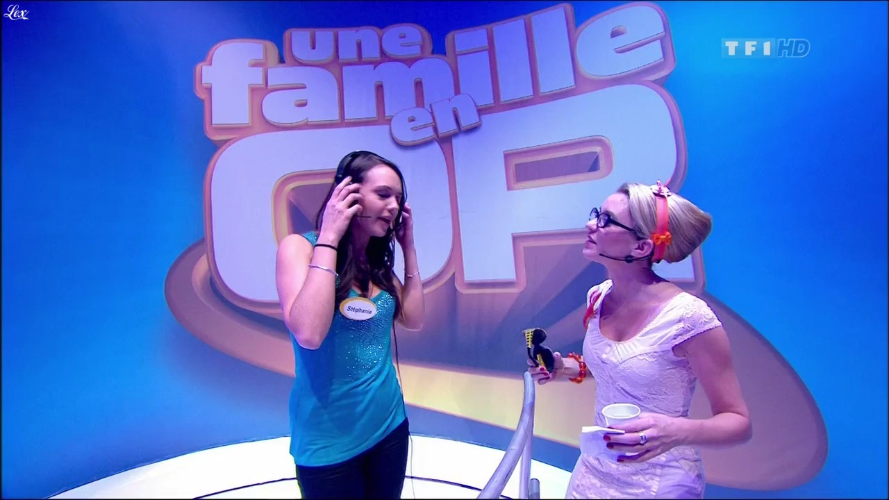 Guilaine dans une Famille En Or. Diffusé à la télévision le 11/03/11.