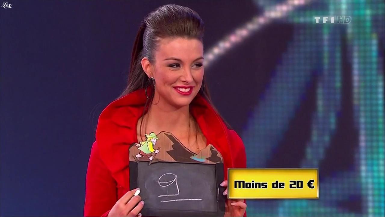 Fanny Veyrac dans le Juste Prix. Diffusé à la télévision le 10/02/11.