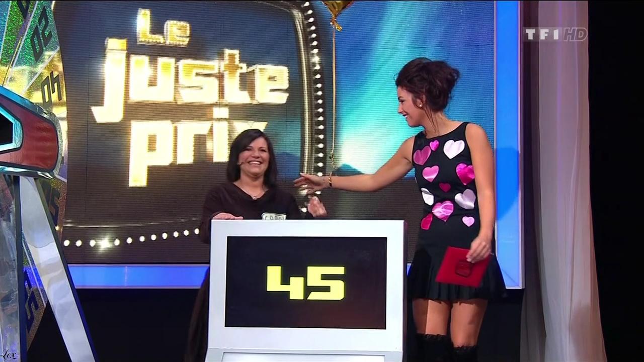Fanny Veyrac dans le Juste Prix. Diffusé à la télévision le 14/02/11.