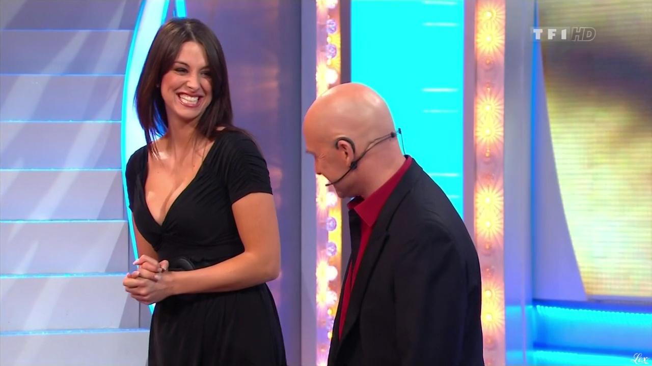 Fanny Veyrac dans le Juste Prix. Diffusé à la télévision le 15/03/11.
