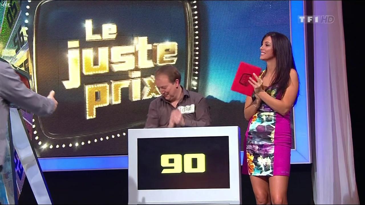 Fanny Veyrac dans le Juste Prix. Diffusé à la télévision le 17/02/11.